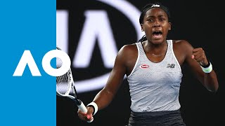 Venus Williams vs. Coco Gauff - Match Highlights | Australian Open 2020