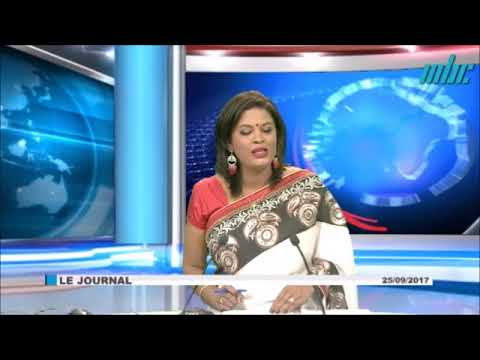 JT 19h30 - 25 Sep 2017 - MBC TV - Business Mauritius - AGM