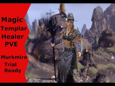 ESO Magicka Templar Healer Pve Build (Murkmire) - Saiyan