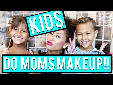 My SON & DAUGHTER do my Makeup TWINS