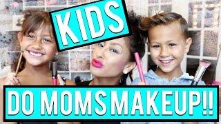 Baixar My SON & DAUGHTER do my Makeup!!! #TWINS