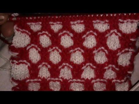 Baby Knitting Patterns Easy Knitting Pattern Locked Honeycomb