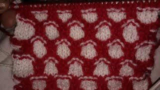 Easy Knitting Pattern || Locked Honeycomb Knitting design || Sweater design for kids