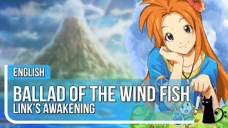 "Link's Awakening - ""Ballad of the Wind Fish"" - ENGLISH COVER by Lizz Robinett feat. @Celestial Fury"