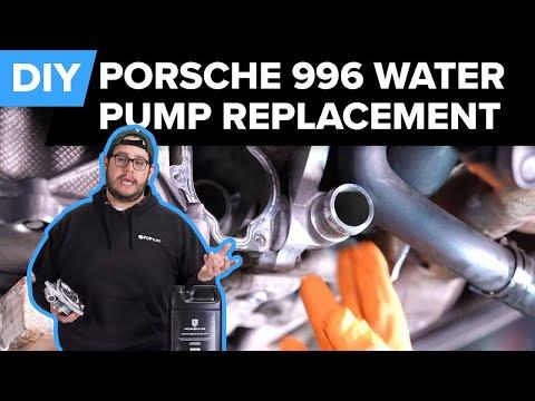 Porsche 996 & 997 Water Pump & Thermostat Replacement DIY (Carerra, Targa, & Boxster)