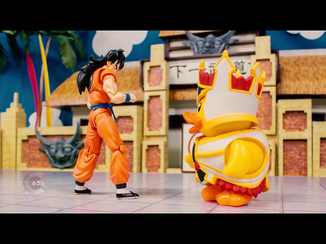 Dragon ball stop motion review - SHF Yamcha