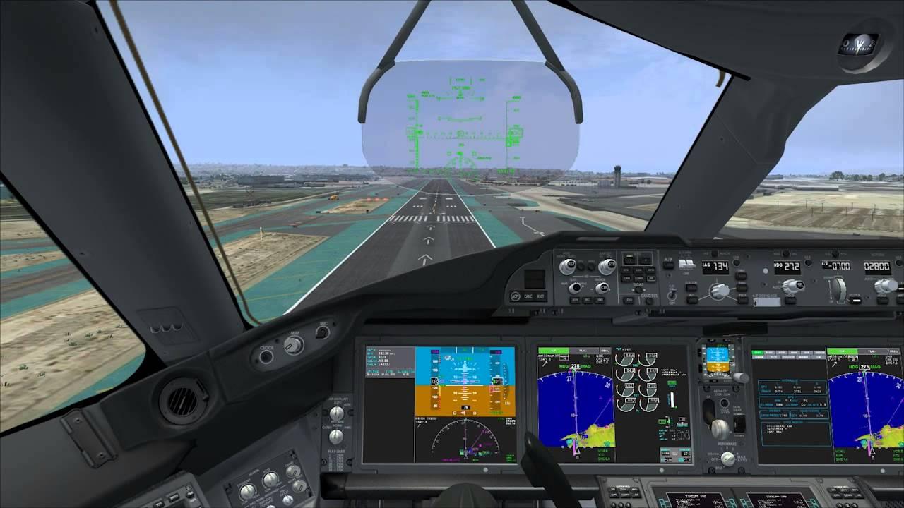 Fsx Wallpaper Hd Fsx 787 Landing At San Diego Youtube