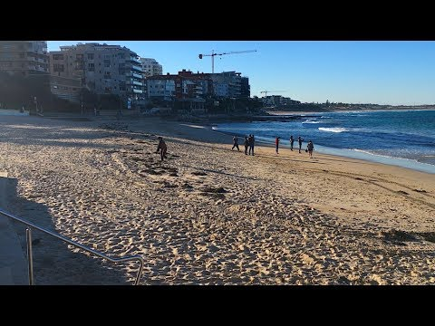 Cronulla on A wintery afternoon