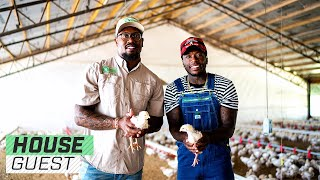 Von Miller's Massive Poultry Palace | Houseguest With Nate Robinson | The Players' Tribune
