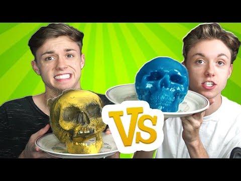 GUMMY FOOD vs REAL FOOD CHALLENGE 3! (GROSS EDITION)