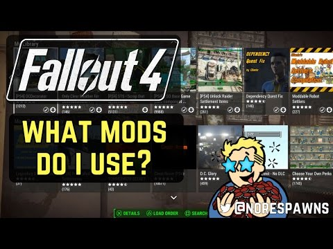 Fallout 4 - What mods do I use? + load order
