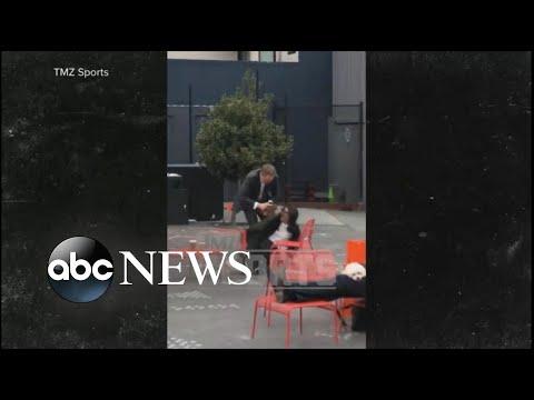 Davie Beatz - SF Giants CEO Attacks Wife in Public