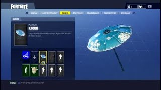 HOW TO HAVE THE SNOWFLAKE ON FORTNITE PARALUIE?