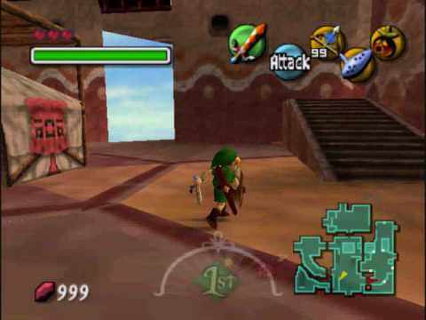 Majora's mask glitches part 1: south clock town = east clock town