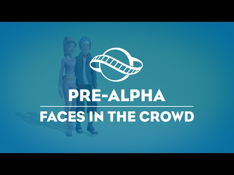 Planet Coaster - Faces in the Crowds