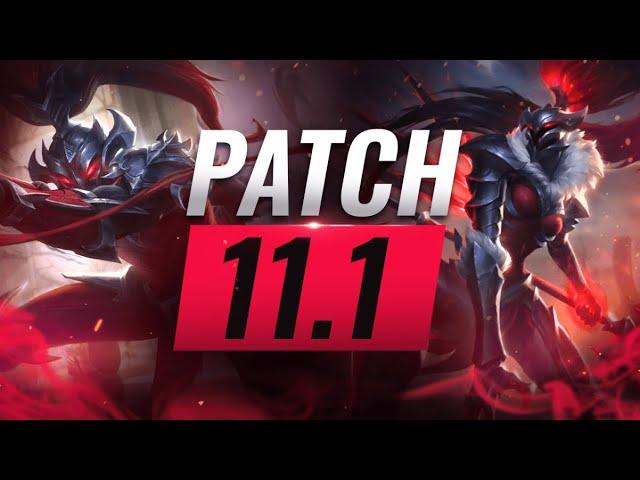 Best Champions Tier List League Of Legends Patch 11 1 Youtube