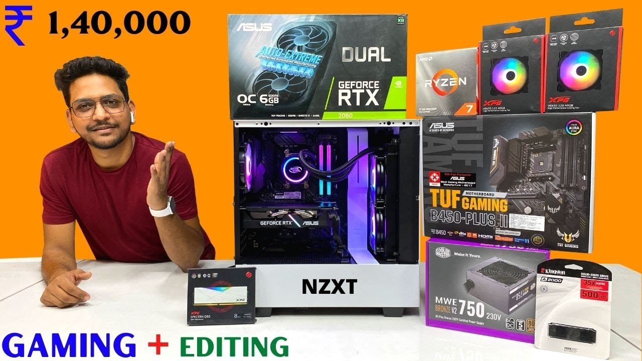 Rs 1.4 Lakh GAMING and EDITING Pc Build 2021 | Hariom Maharastra | 9532777615 | Mr Pc Wale