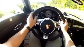 On the Road / Exhaust Sound : NEW Porsche 911 GT3 (Option Auto)