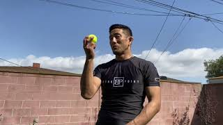 Tennis Ball Grip Drills, Part 1