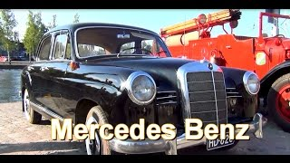 Mercedes Benz 1952  Two old car Два старых автомобилей Zwei alte Auto
