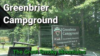 Greenbrier Campground in Gatlİnburg Tennessee Complete Walk Through