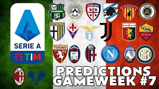 The brand new 2020/21 serie a season is about to begin, and i have returned try predict outcomes of each every match this has offer....