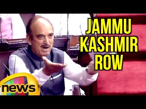 Ghulam Nabi Azad Sensational Speech In Rajya Sabha | Jammu Kashmir Row | Mango News