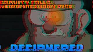 [Undertale Au-Gravity Falls:Weirdmageddon'rise]DECIPHERED(By Timberwoof)