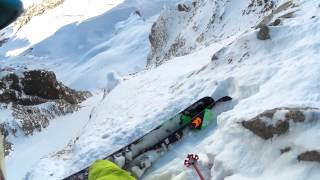 "Ian McIntosh Skis the ""Y"" Couloir in La Grave France: Behind the Line Season 7 Episode 1"