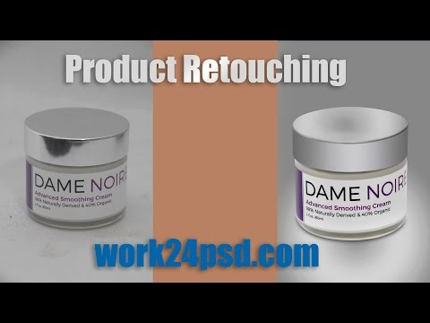 How to product retouching in photoshop