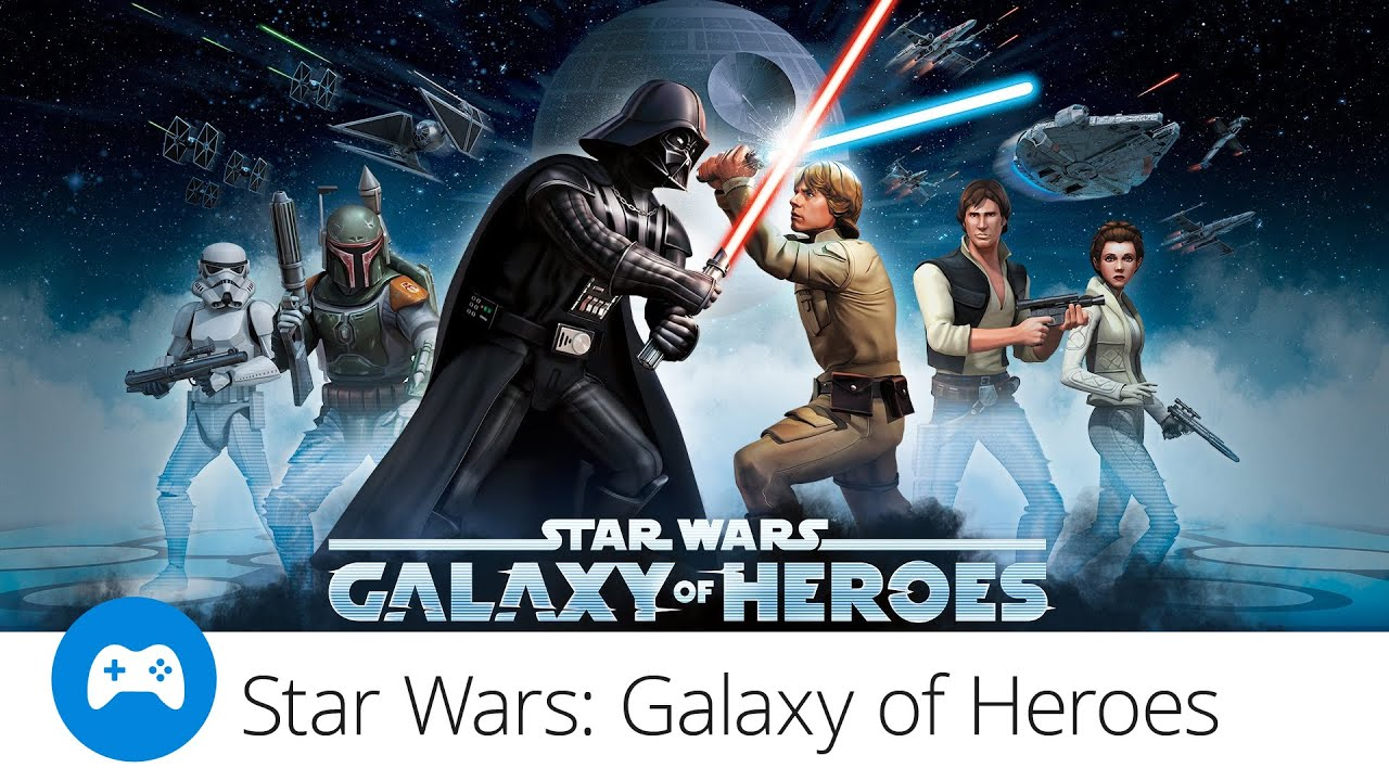 Star Wars Galaxy of Heroes recenze hry