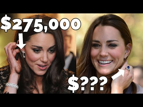 10 Kate Middleton's Most Expensive Pieces of Jewellery