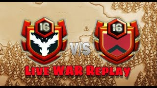INDIA'S TOP CLAN LIVE WAR REPLAY | CLASH WITH CA SOMNATH |