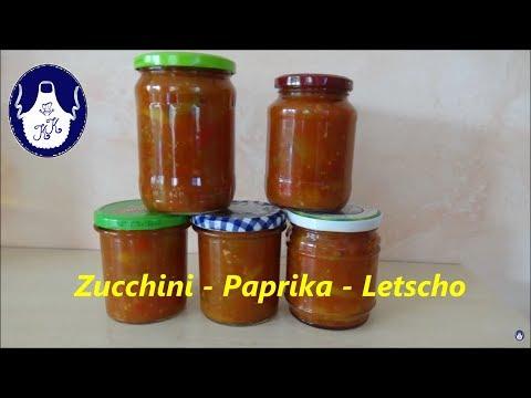 Kalinkas Küche | Zucchini Paprika Letscho