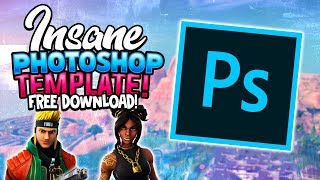(FREE DOWNLOAD) How to create FORTNITE THUMBNAILS *HD! - Photoshop Editing Tutorial