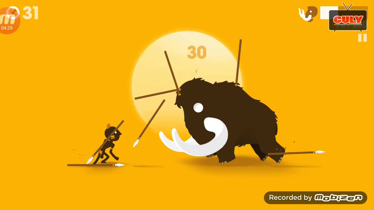 Big hunter thổ dân săn voi ma mút khổng lồ  – cu lỳ chơi game lồng tiếng vui nhộn
