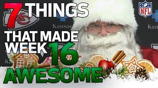 7 AWESOME Things From Week 16 | NFL Highlights