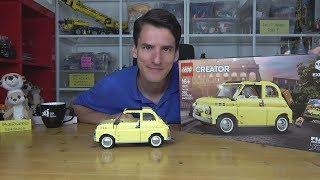 Lepin-Qualität zum LEGO®-Preis: Creator Expert 10271 Fiat 500