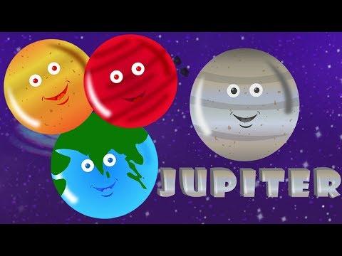 Planet Lagu | Belajar Planet | Lagu Pendidikan | Sajak Untuk Anak-anak | Kids Songs | Planets Song