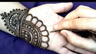 Latest beautiful,stylish and easy mehndi designs for front hands/Simple Henna designs 2020 #mehndi 2