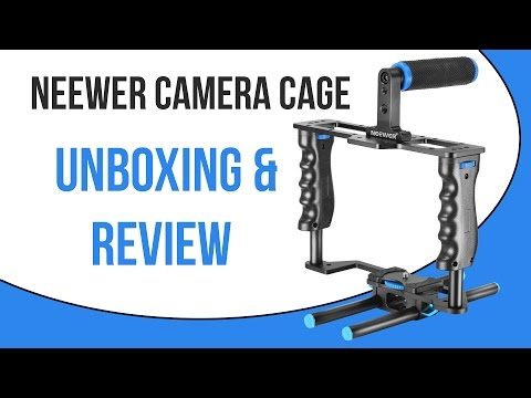 Neewer Aluminum Alloy Camera Video Cage