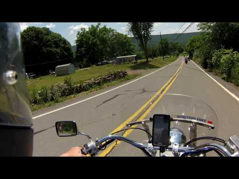 I rode the Dragon - PA Route 125