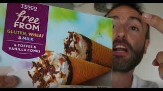 Tesco Vegan Vanilla and Toffee Ice Cream Food Review and Taste Test