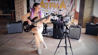 Sir Duke (Stevie Wonder) Bass Guitar Cover - Капля Мария видео