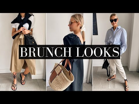 BRUNCH OUTFITS | SMART/CASUAL DAYTIME LOOKS - YouTube
