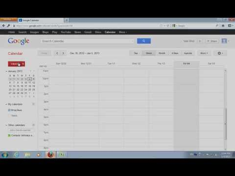export google calendar to excel free