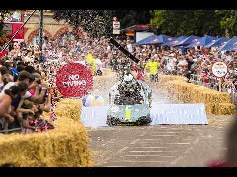 Driver's view: Red Bull Soapbox Race - 24 Seconds of Le Ally Pally