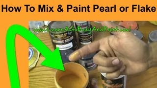 How To Paint With Pearls & Flakes - What is Pearl Paint? Painting Your Car With Pearl Paint!