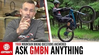 The Easiest Way To Do A Wheelie... | Ask GMBN Anything About Mountain Biking