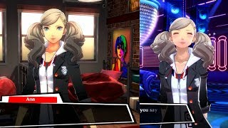 Persona 5: Dancing In Starlight All Ann Social Ranks